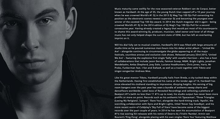 Marketing creating your dj press kit mixed in key for Dj biography template